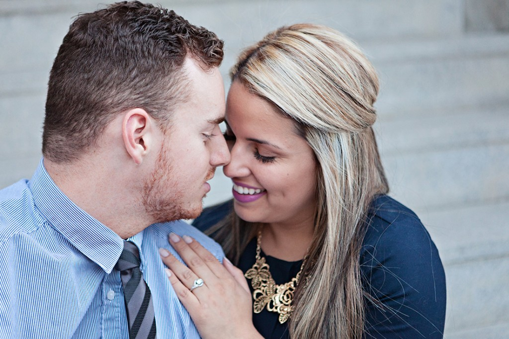 Engagement Session in Downtown Salt Lake City by Wyoming Wedding Photographer