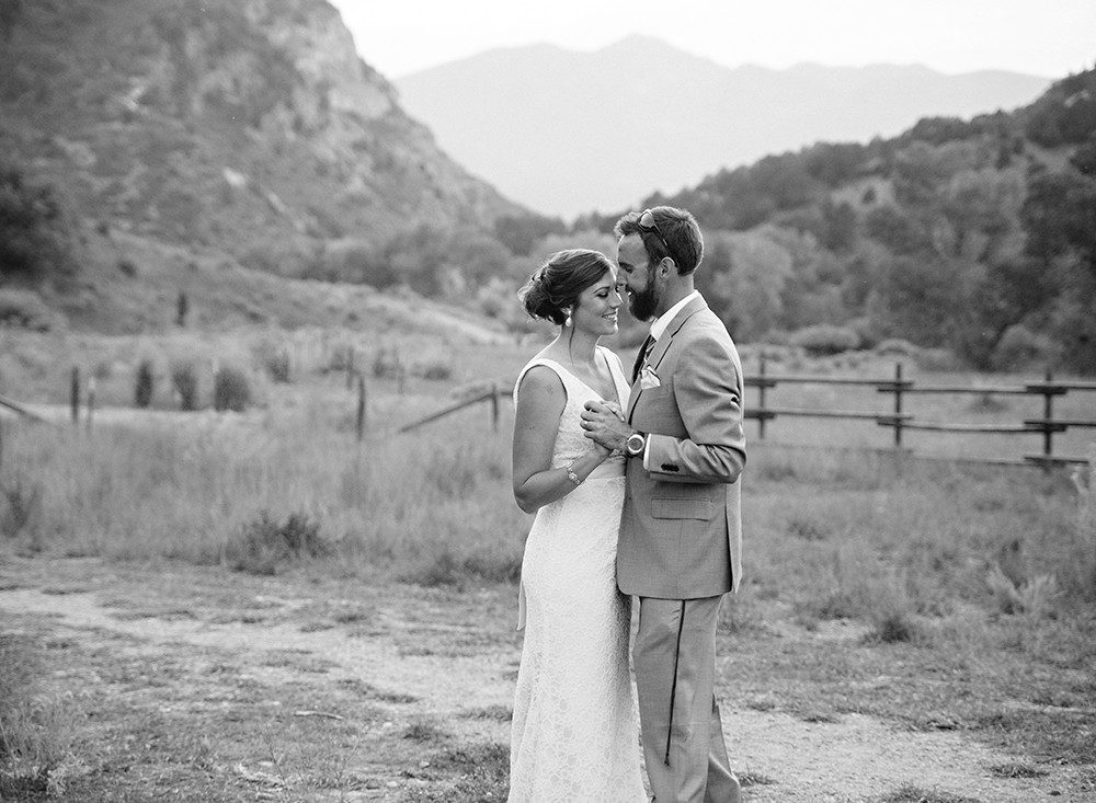 Country wedding by wyoming wedding photographer