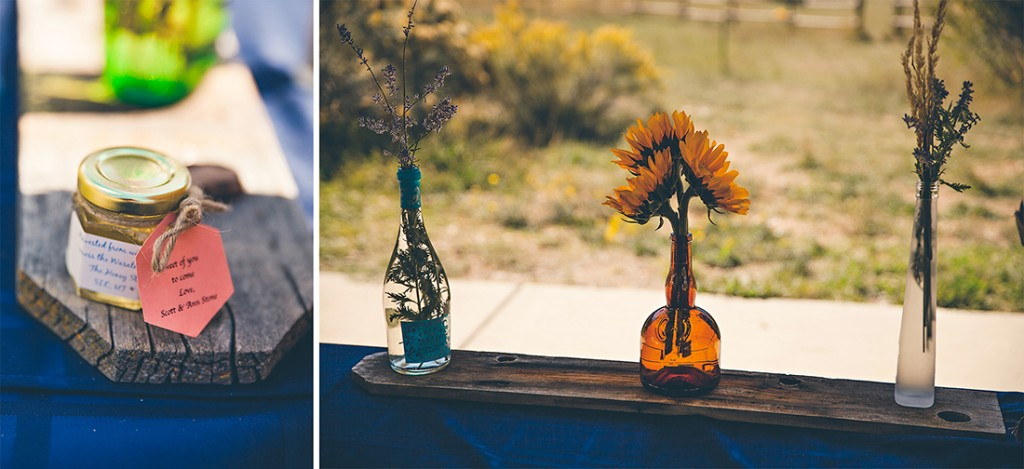 Wyoming wedding floral tablescape by wedding photographer, Megan Lee Photography