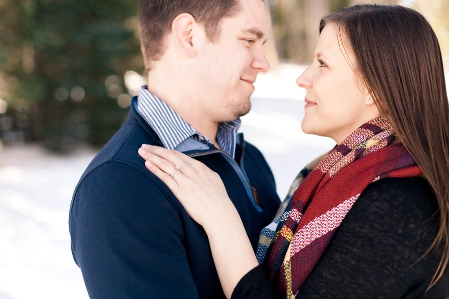Engagement photography by Laramie based wedding photographer