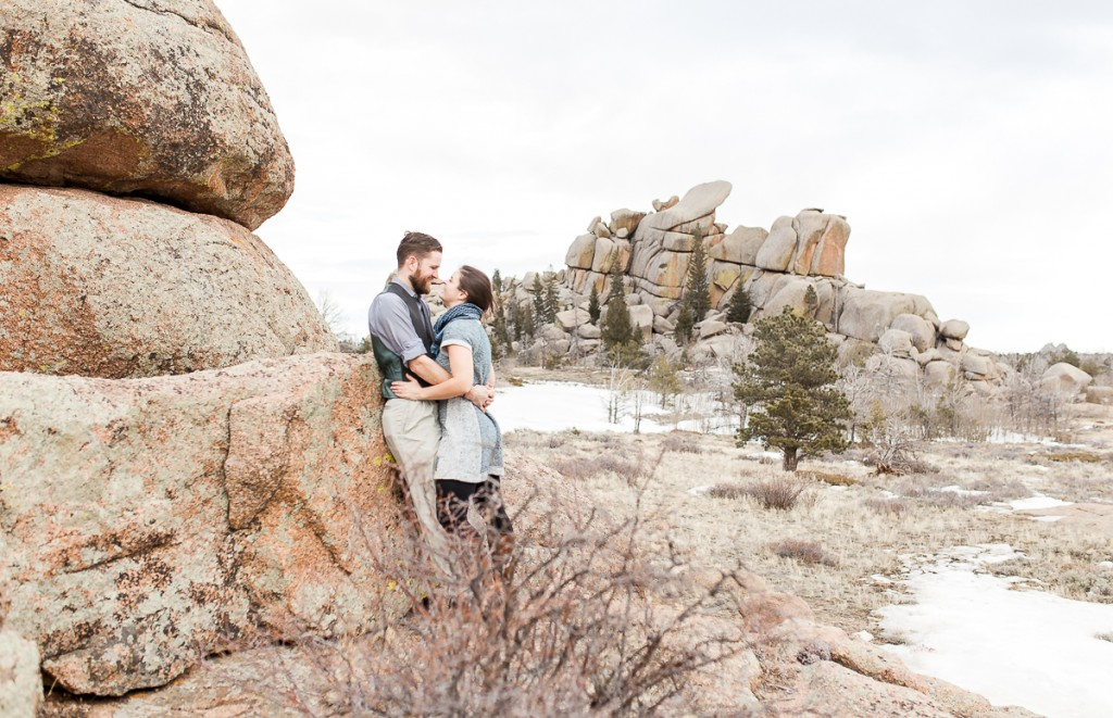 Nautilus Engagement Portrait photography by Wyoming Wedding photographer, Megan Lee Photography