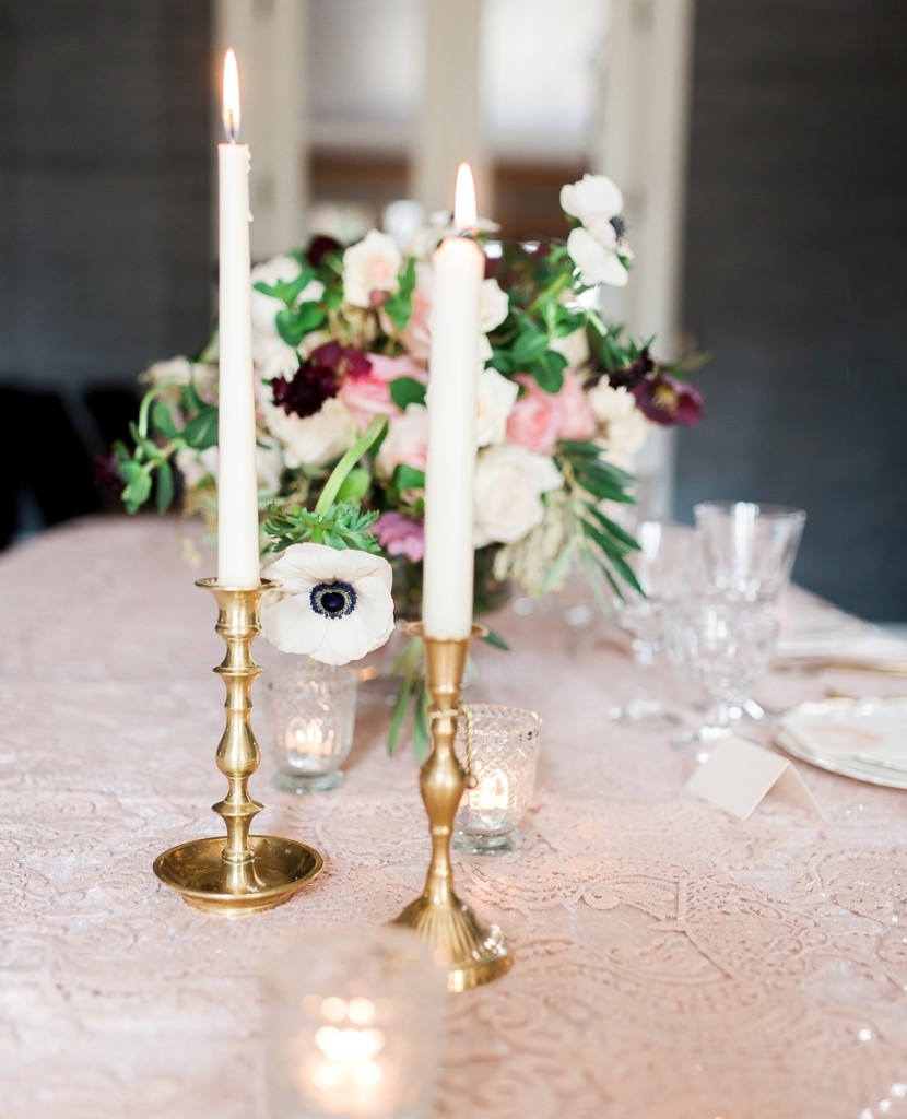 Fort Collins wedding inspiration in pink, gold, and navy.
