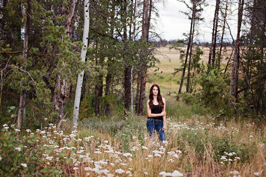 Laramie Plainsmen high school senior portrait photography