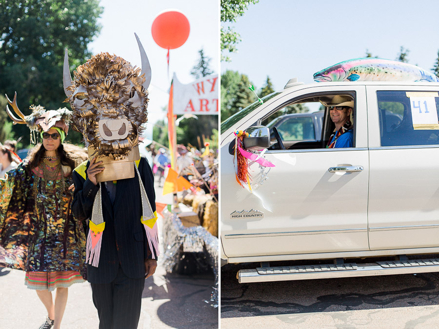 Wyoming Art Party - The Parade Project Laramie 2016