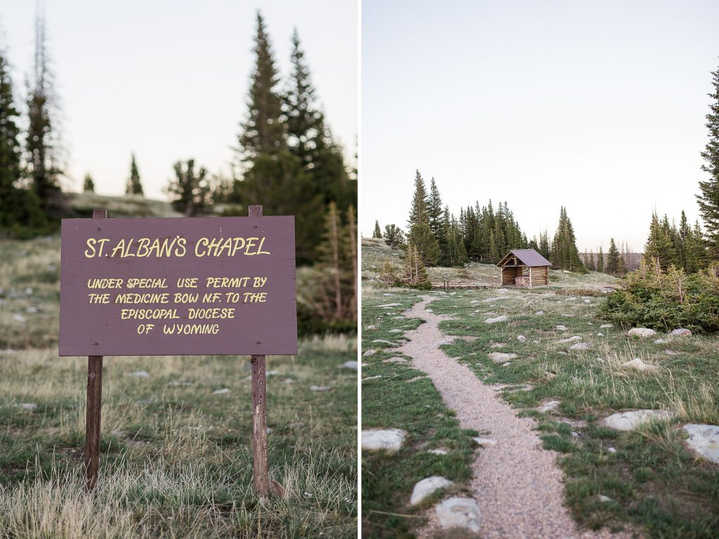 St Albans Chapel Snowy Range Mountain Wedding Venue Near Laramie Wyoming
