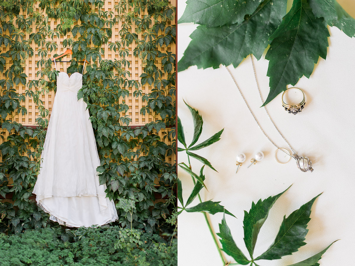 I love photographing all the brides details, the jewelry and of course the dress, are at the top of that list!