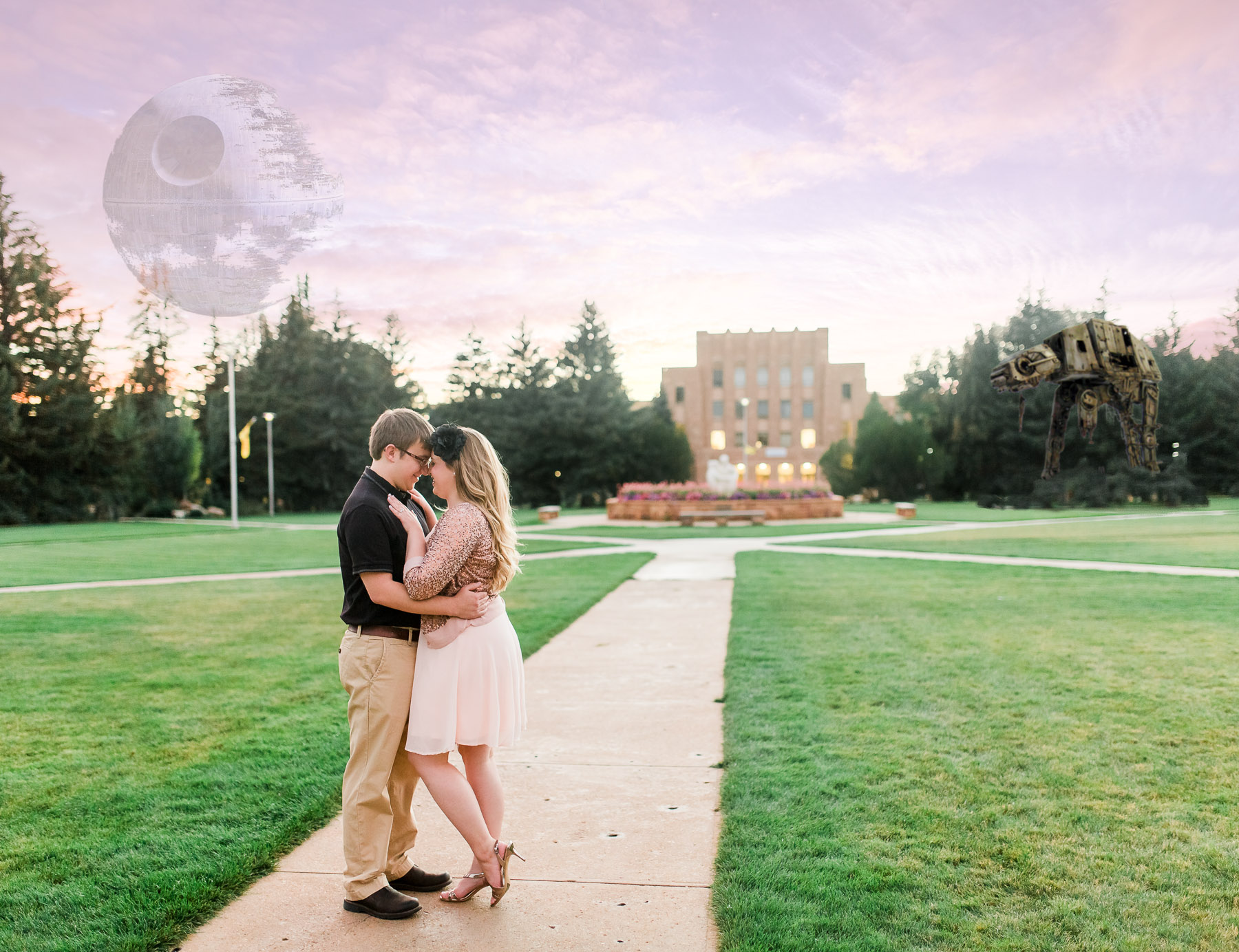 University of Wyoming Laramie Wyoming Engagement Photography By Megan Lee