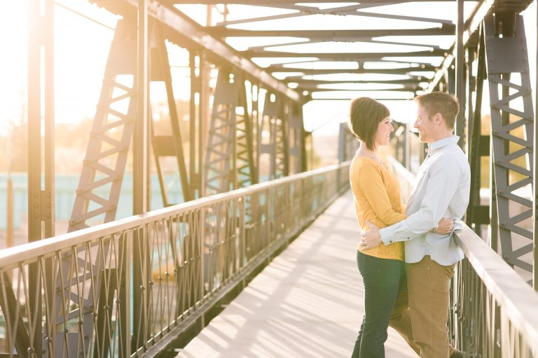 Engagement Session in Downtown Salt Lake City by Wyoming