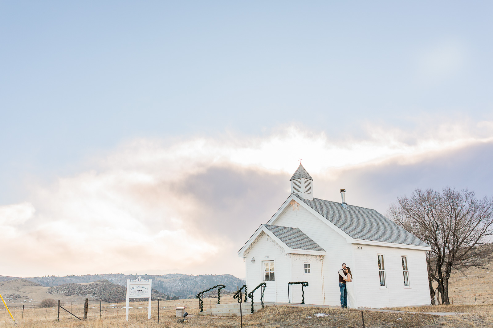 Virginia dale colorado winter elopement, wedding photography by Megan Lee Photography based in Laramie Wyoming