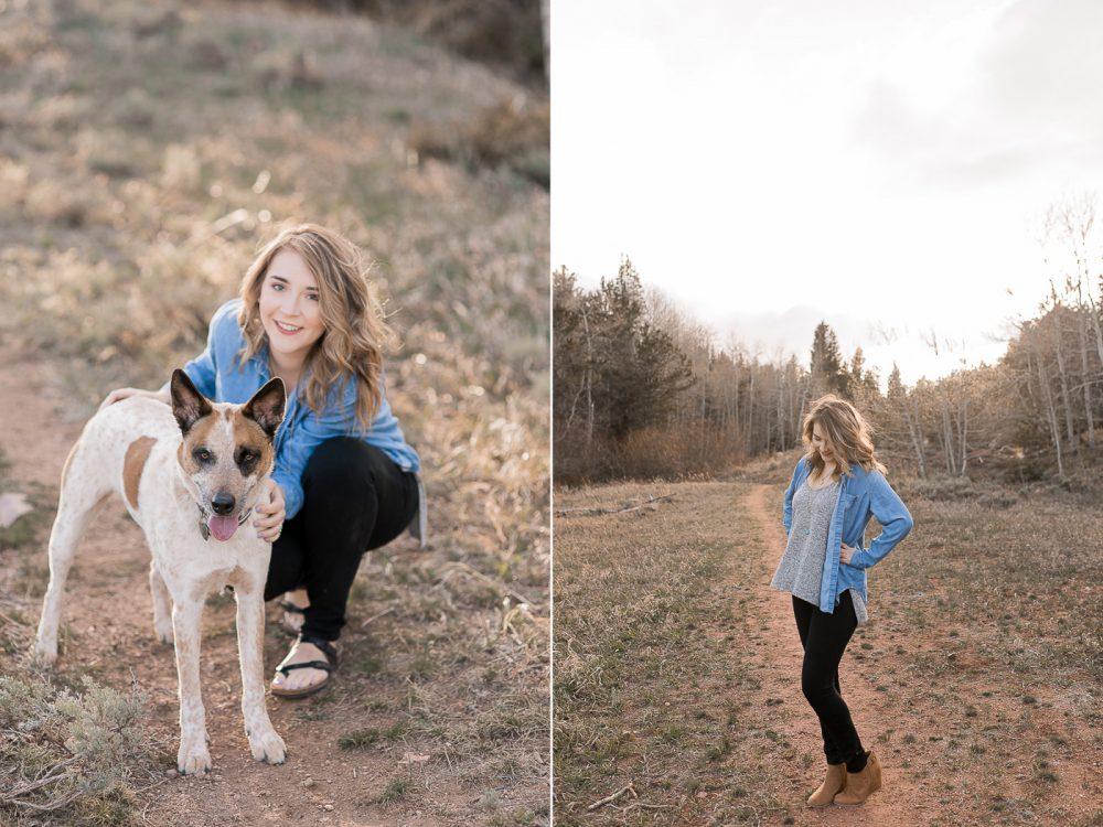 University of Wyoming Senior portrait photography by Megan Lee Photography based in Laramie Wyoming