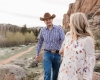 Vedauwoo Medicine Bow National Forest Engagement Photography by Laramie based wedding photographer, Megan Lee Photography.