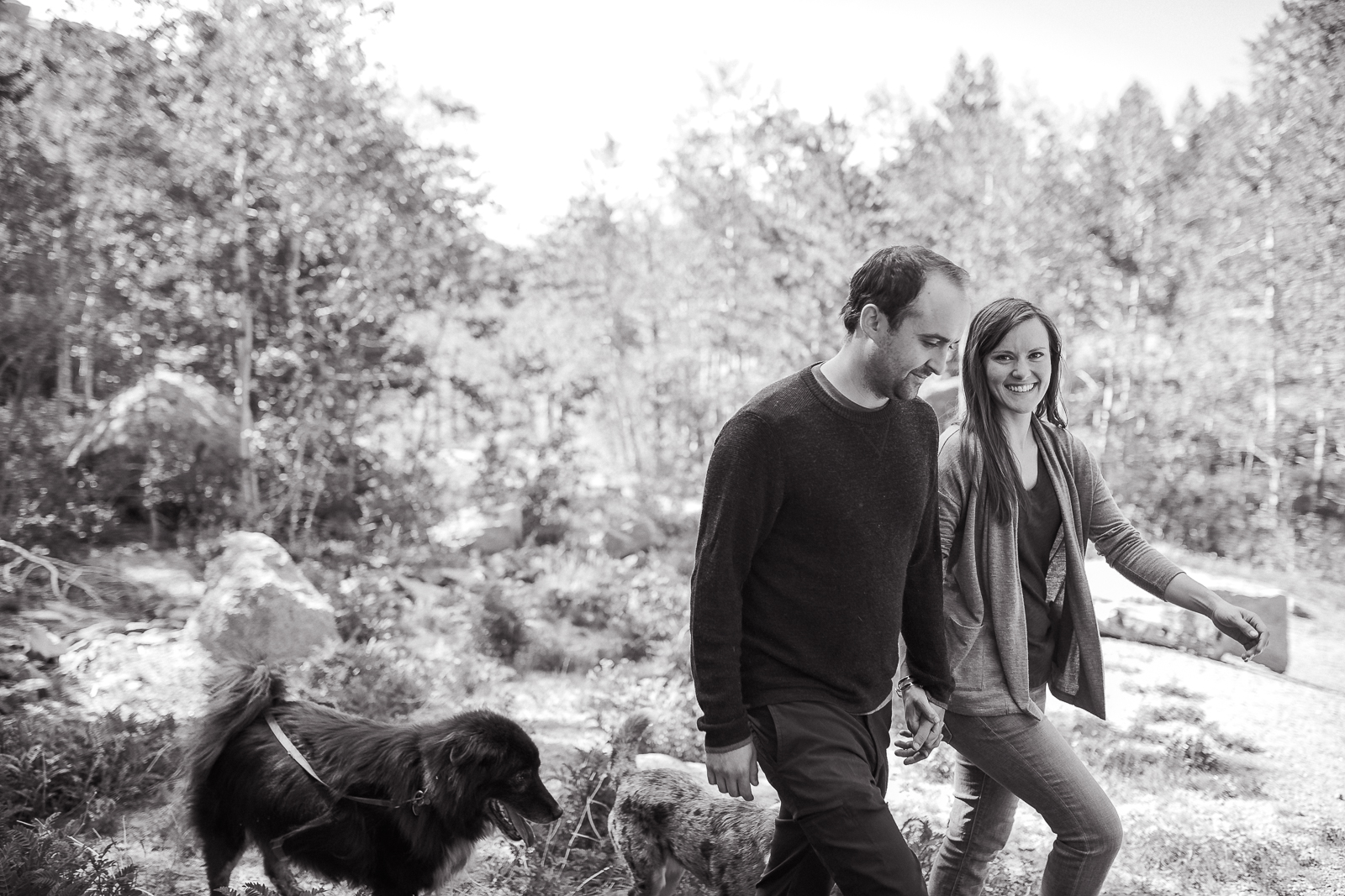 Vedauwoo in Medicine Bow National Forest Engagement Session by Wyoming based wedding photographer.