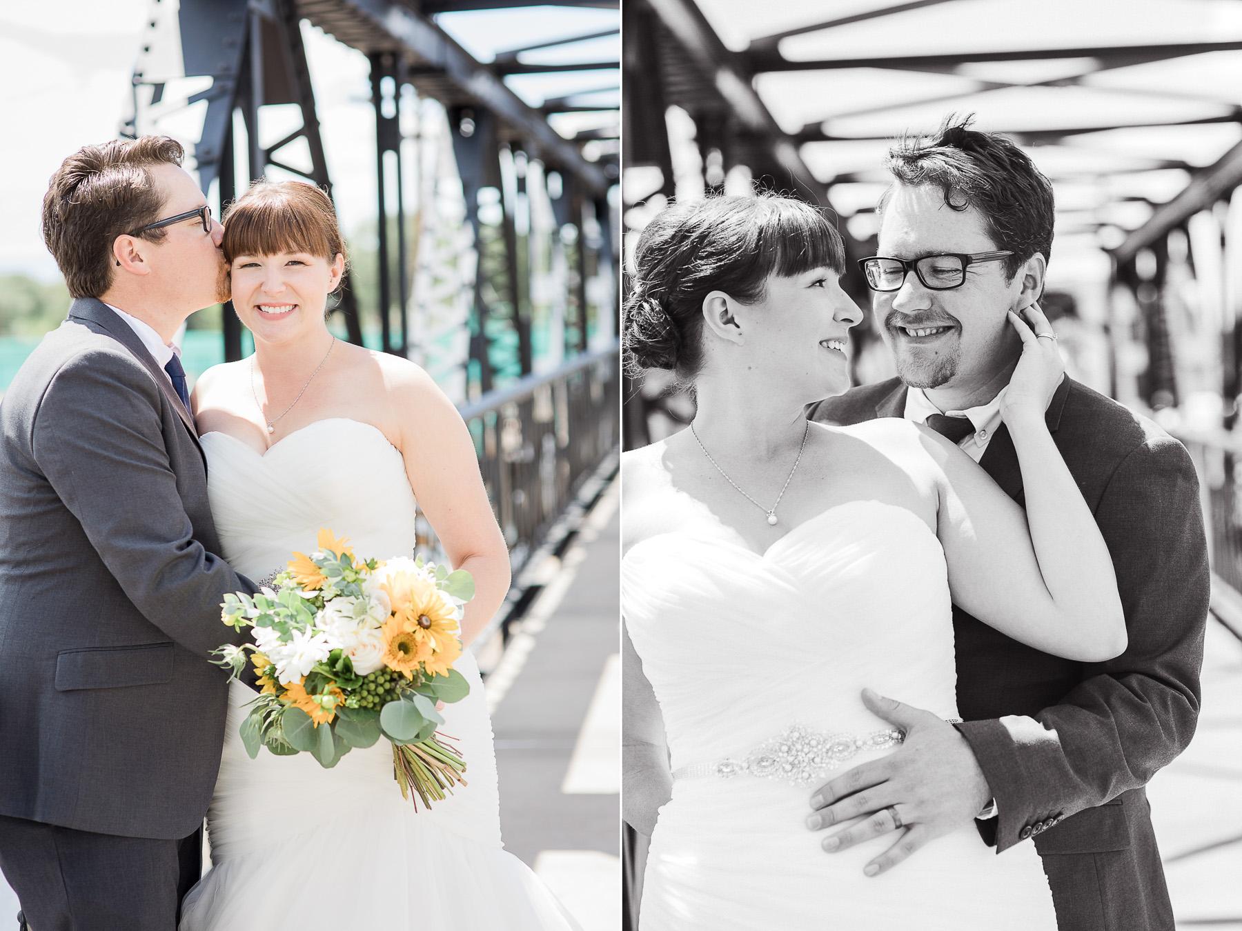 Intimate Backyard Wedding Photography by Laramie Based Wedding Photographer