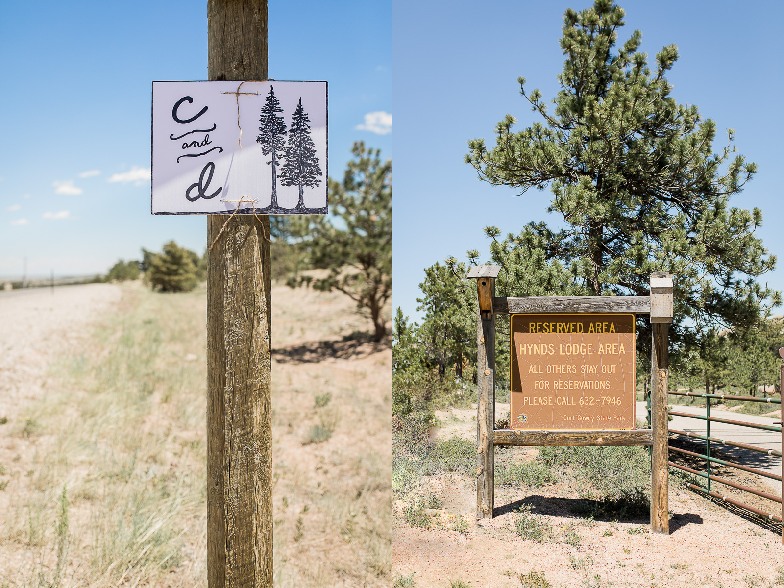 Curt Gowdy State Park Wedding by Wyoming based Photographer Megan Lee Photo