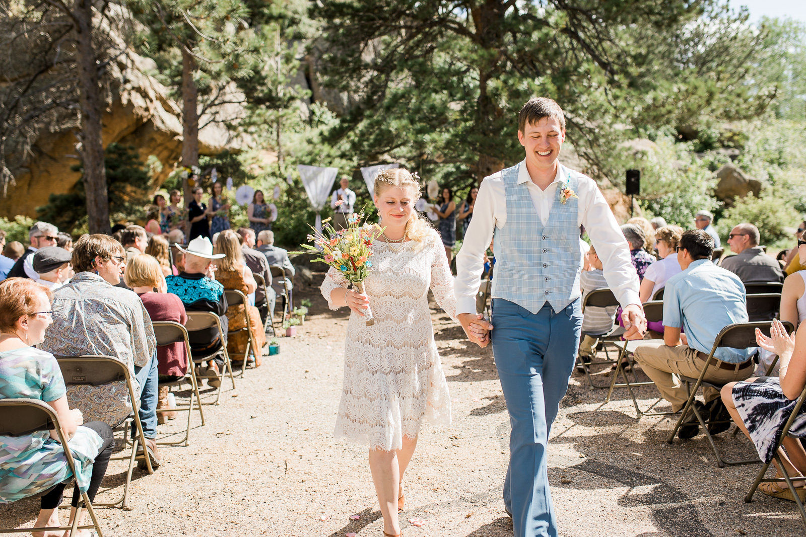 Vintage Wedding at Curt Gowdy State Park by Megan Lee Photography