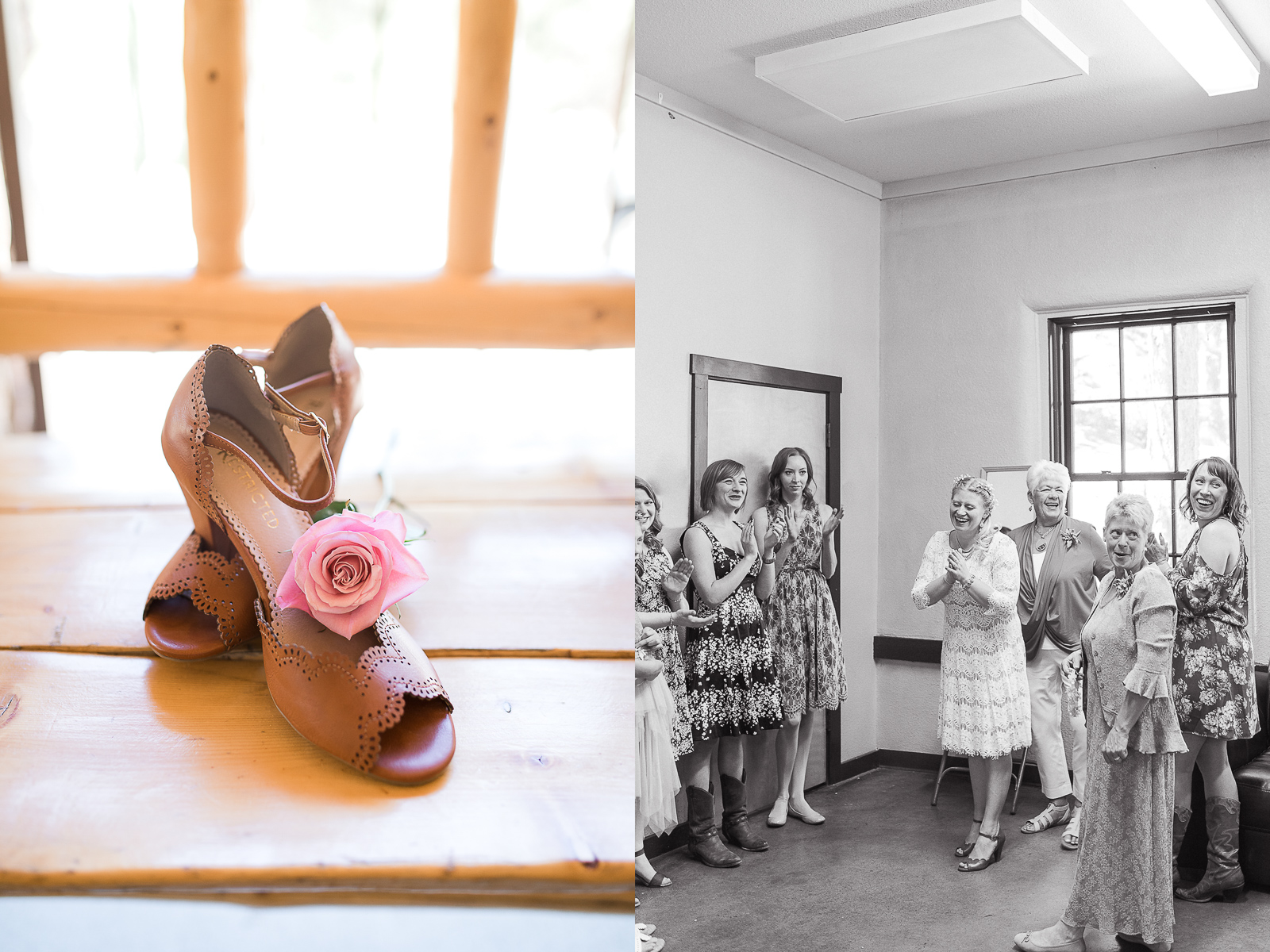 CarlyAnn & Dustin's Vintage Hynds Lodge Wedding in Curt Gowdy State Park in Laramie, Wyoming by Megan Lee Photography.