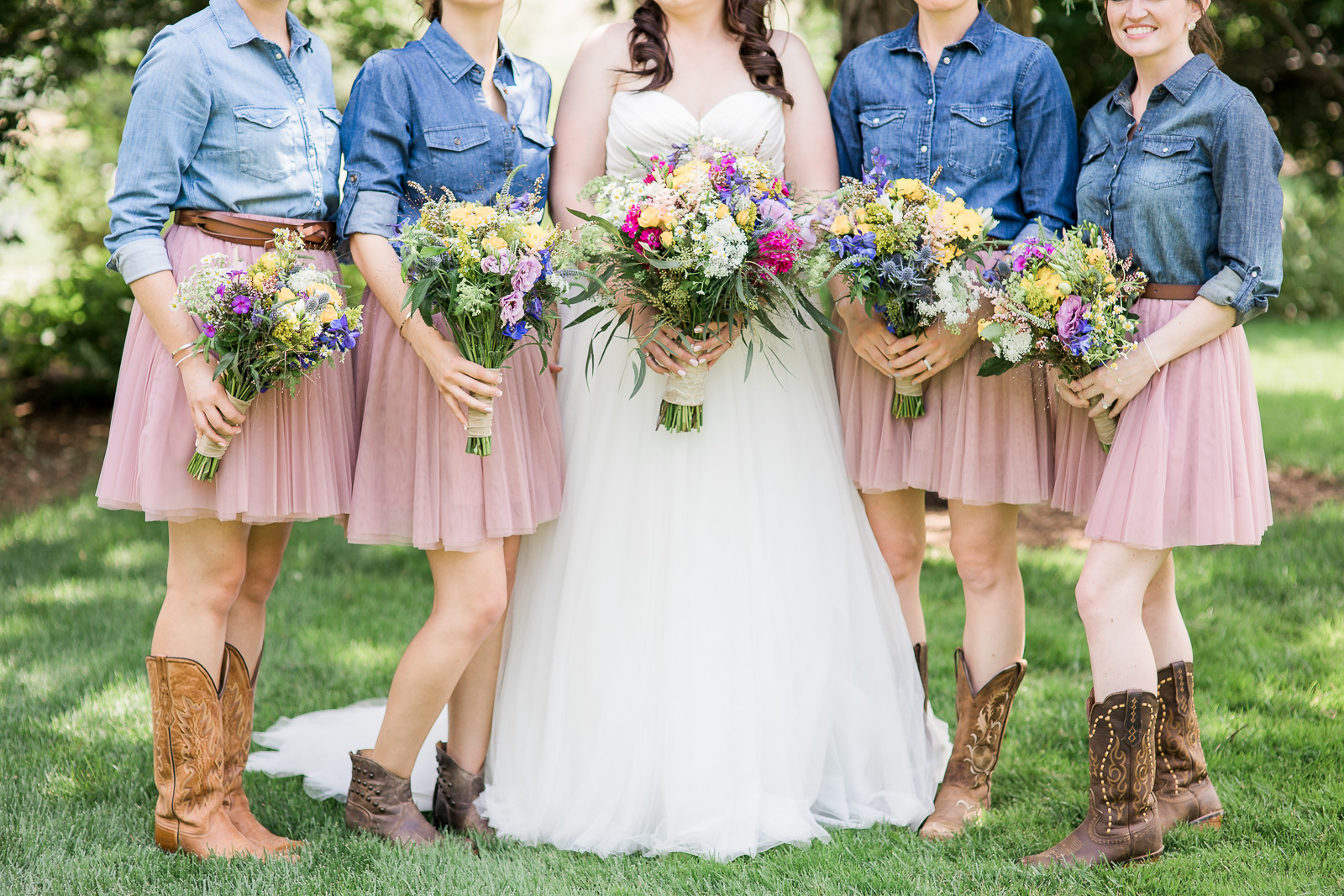 Rustic Bridesmaids Dresses