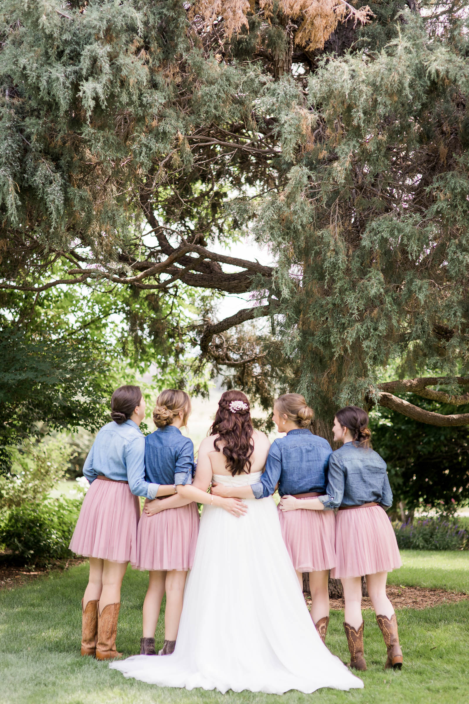 Chatfield Farms Denver Botanic Garden Wedding by Laramie based Photographer Megan Lee Photography