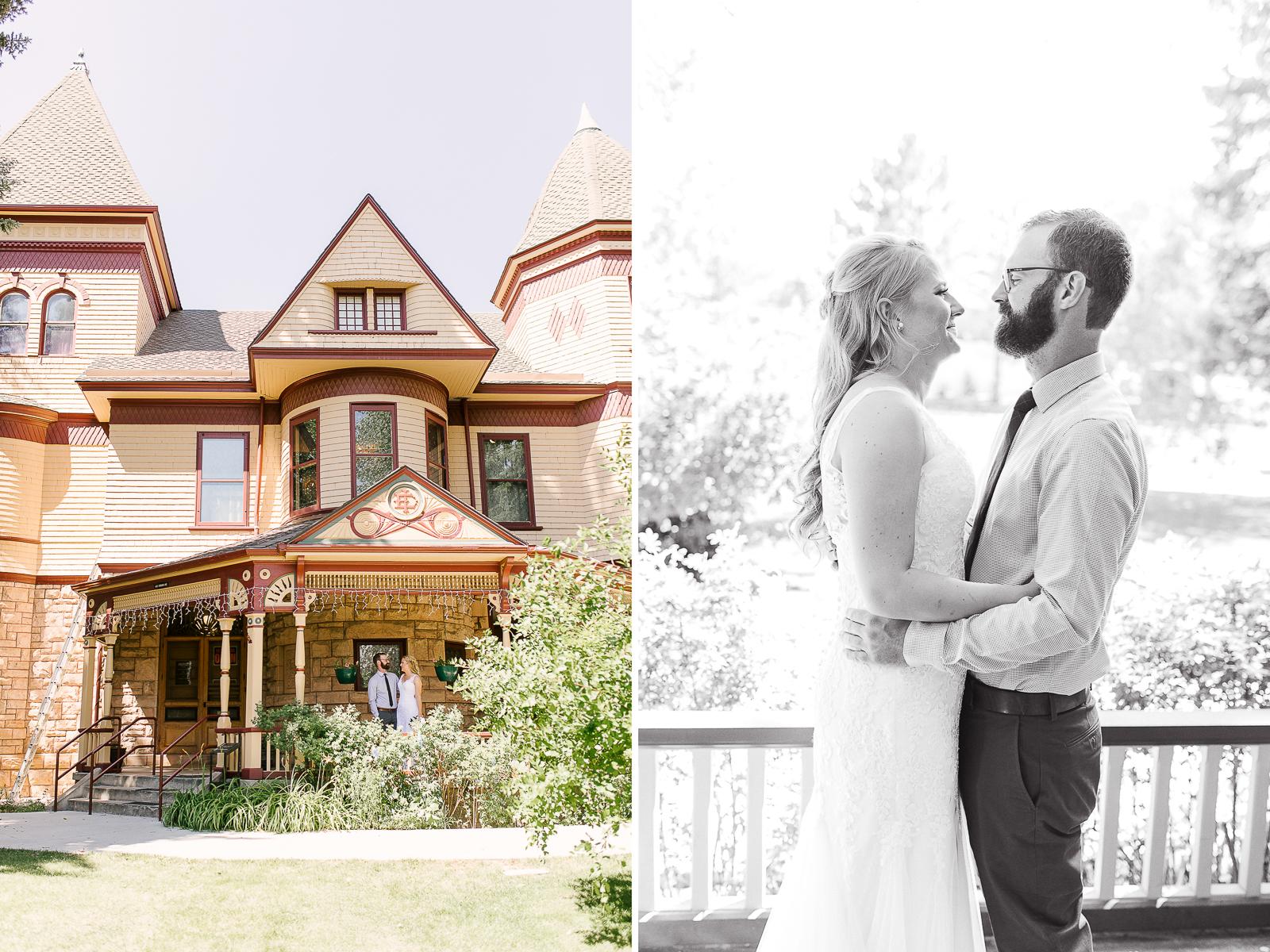 Ivinsion Mansion Garden Wedding by Wyoming Wedding Photographer, Megan Lee Photography