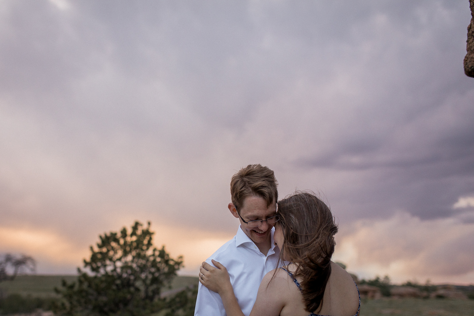 Vedauwoo Campground Engagement Session by Laramie Based Photography Megan Lee Photography