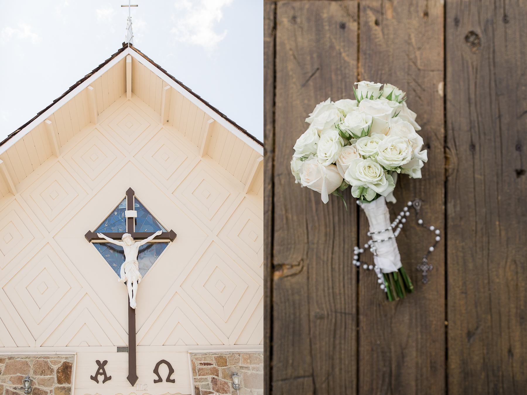 Wedding at Our Lady Peace in Wyoming by Megan Lee Photography