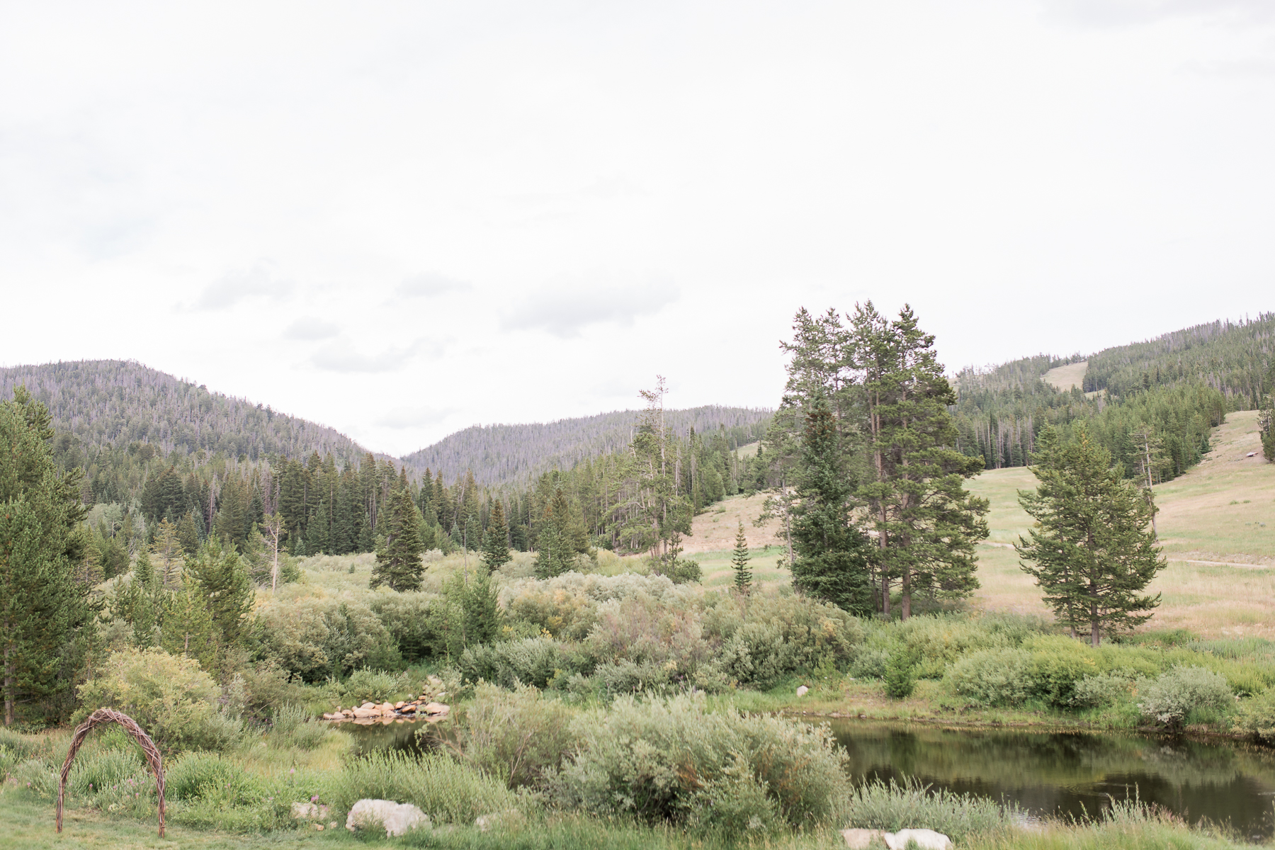 White Pine Ski Area Wedding in Pinedale, Wyoming by Megan Lee Photography