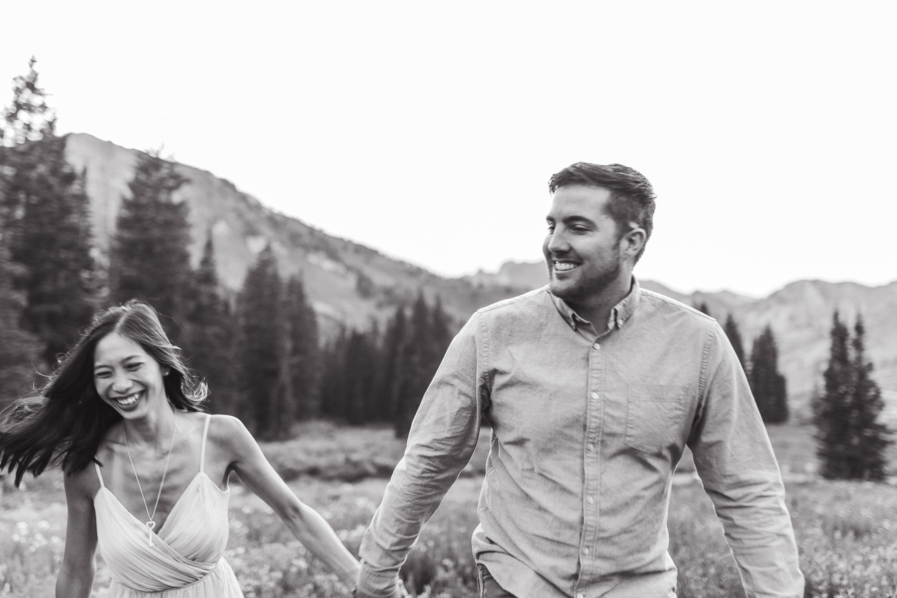 Elopement at Albion Basin in Utah by Wyoming based photographer, Megan Lee Photography
