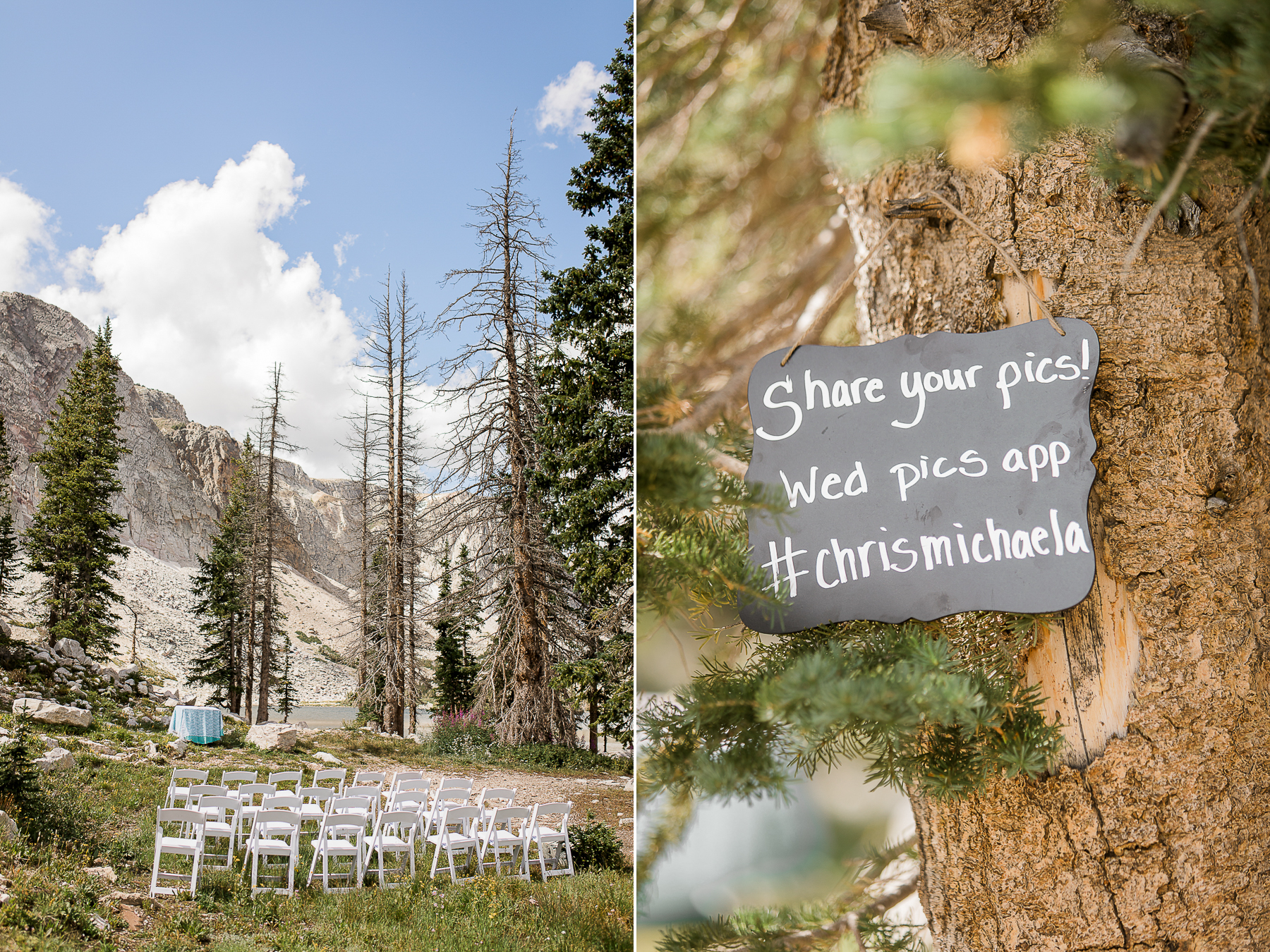 Elopement at Lake Marie in Medicine Bow National Forest
