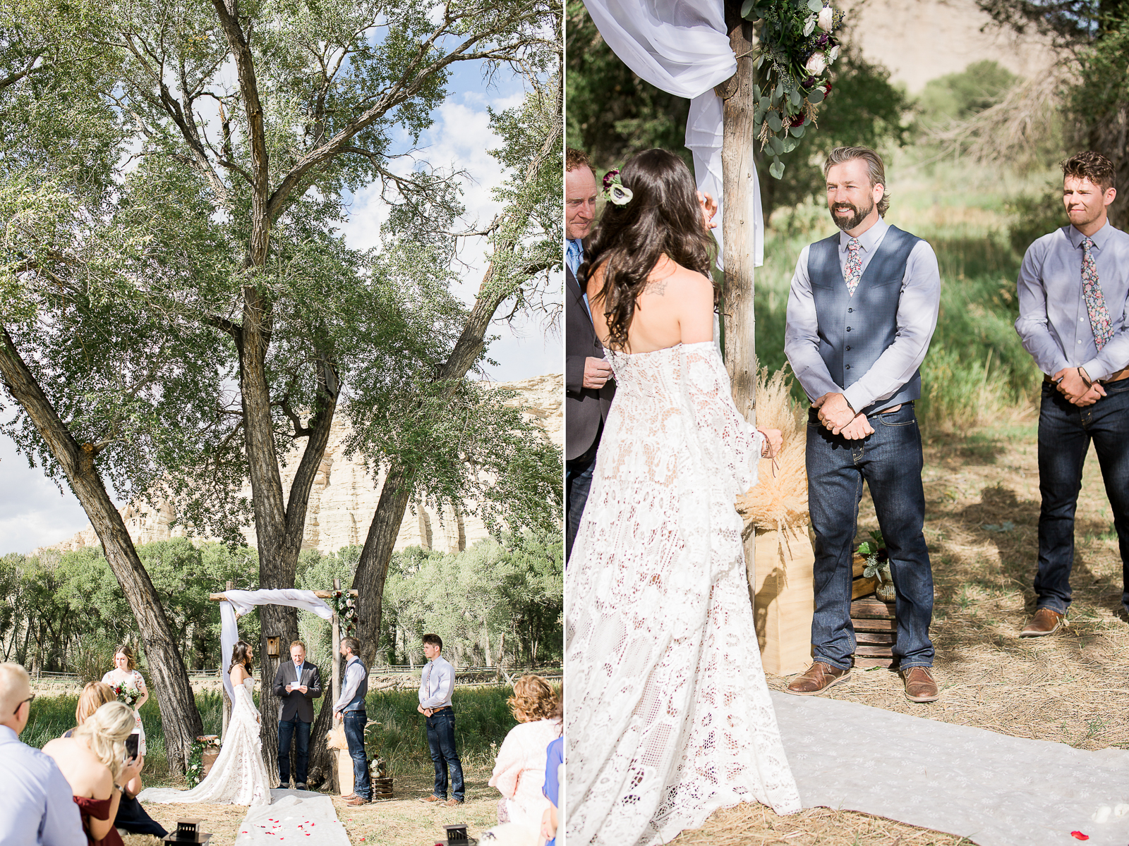 Boho Wedding in Sarataoga, WY by Laramie based photographer, Megan Lee Photography