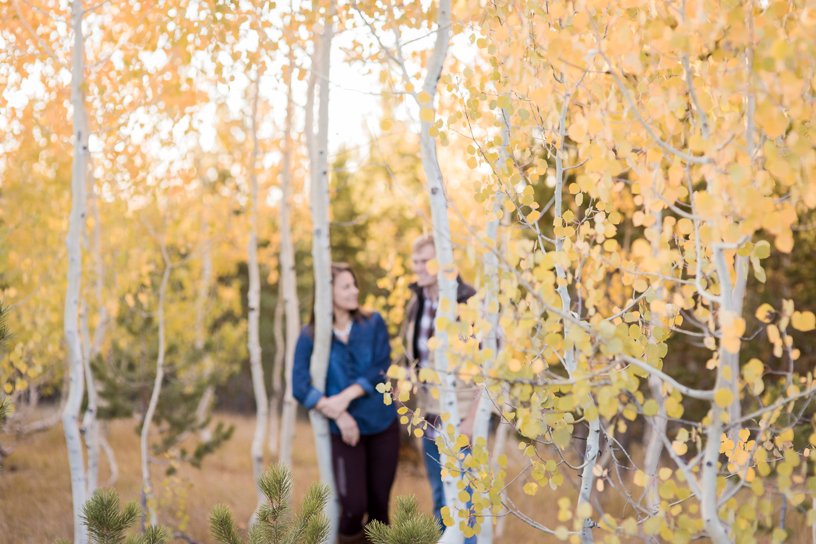 Fall inspired engagement photos