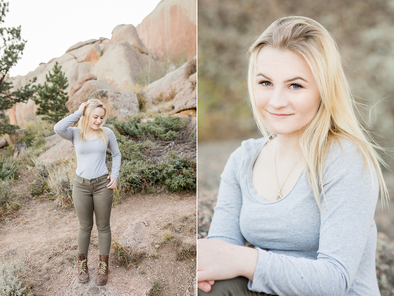 Vedauwoo Senior Portrait Session by Laramie base photographer, Megan Lee Photography