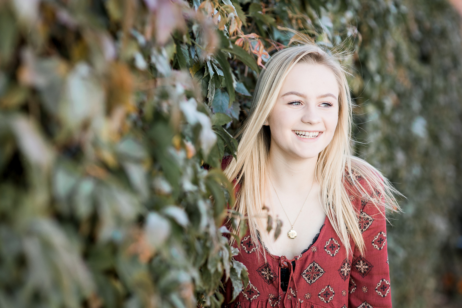 Downtown Laramie Senior Portrait Session by Wyoming base photographer, Megan Lee Photography