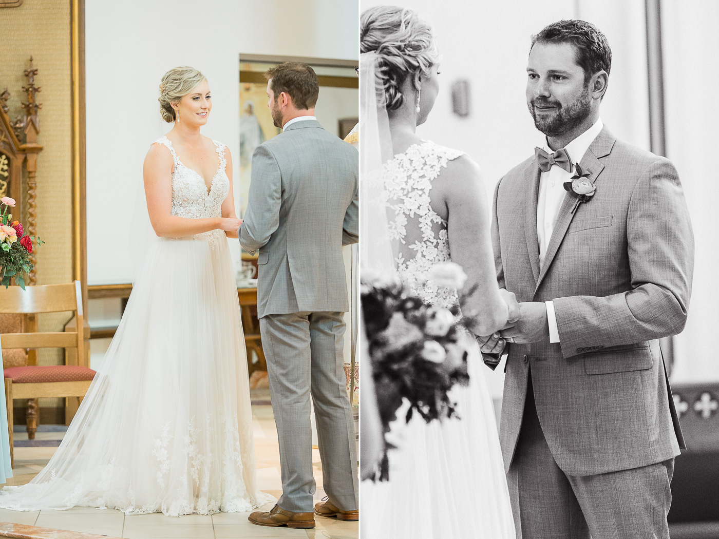 St Mary's Cathedral Wedding in Cheyenne Wyoming by Megan Lee Photography