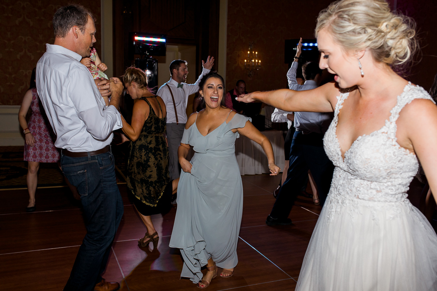 Little America Wedding Reception in Cheyenne By Megan Lee Photography