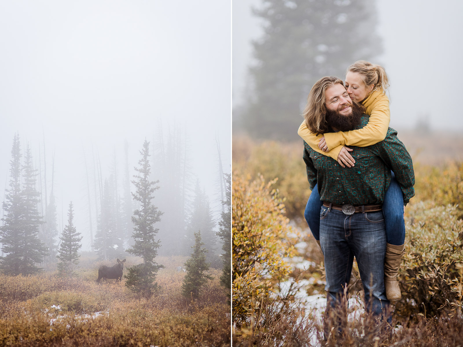 Laramie, Wyoming engagement photography by Megan Lee Photography
