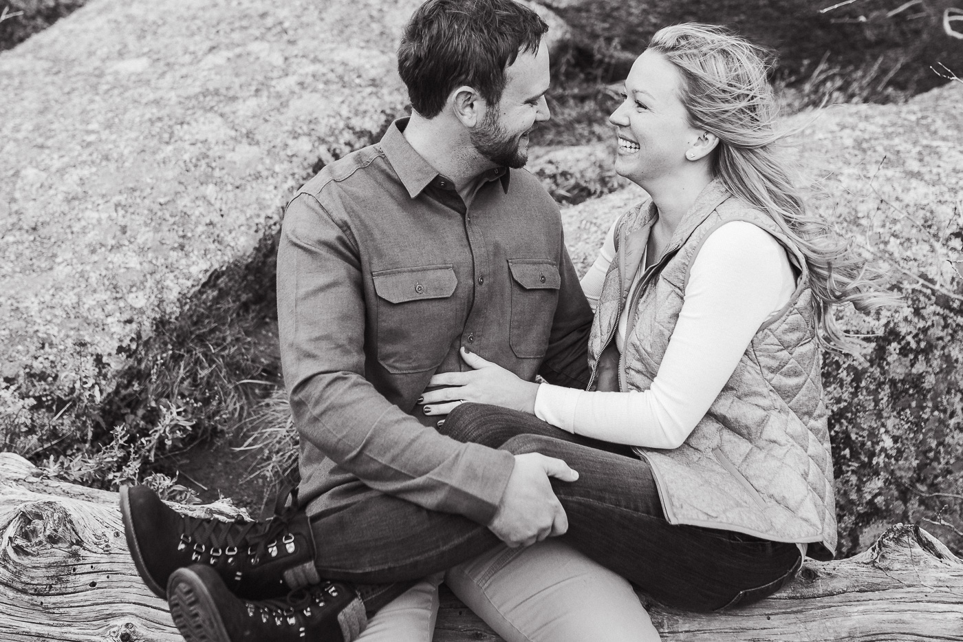 Fall Engagement Photos at Vedauwoo in Laramie