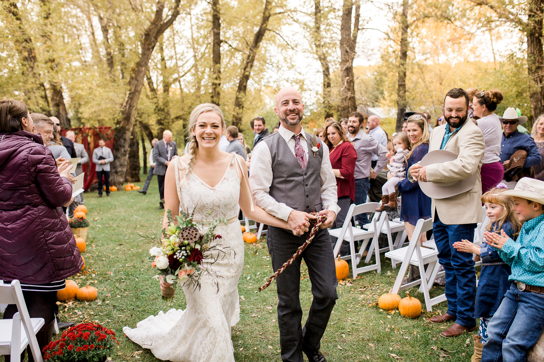 Fall Inspired Wedding in Laramie by Megan Lee Photography