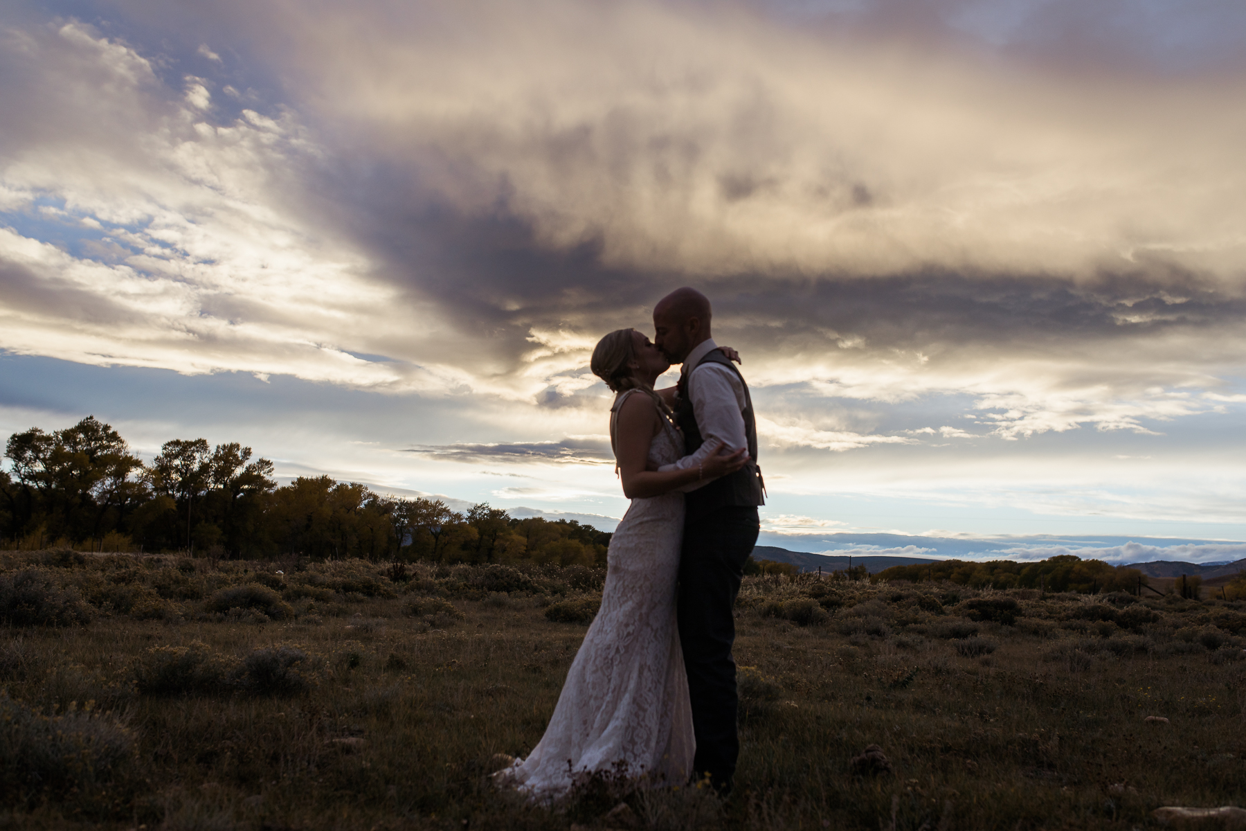 Vee Bar Ranch Wedding in Wyoming by Megan Lee Photography