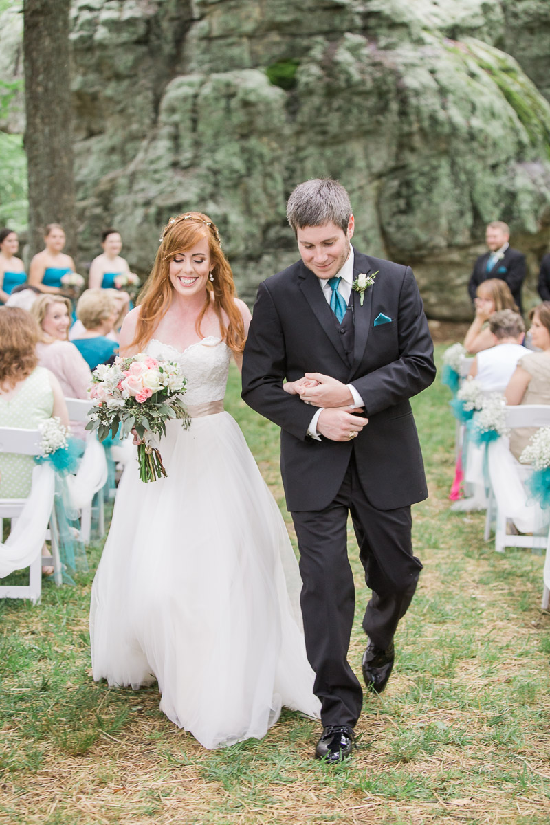 Wedding ceremony by Megan Lee Photography