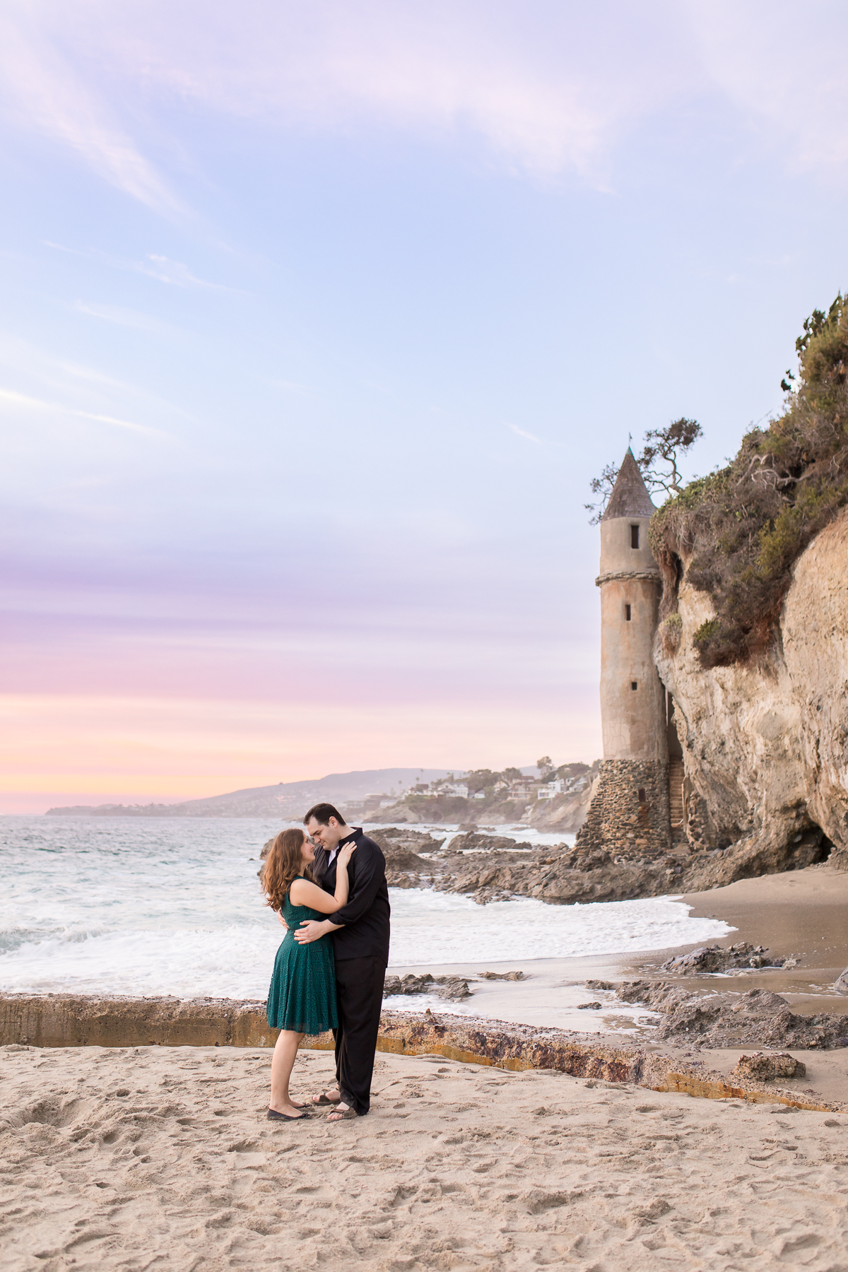 Beach Destination engagement session by Laramie based photographer, Megan Lee Photography