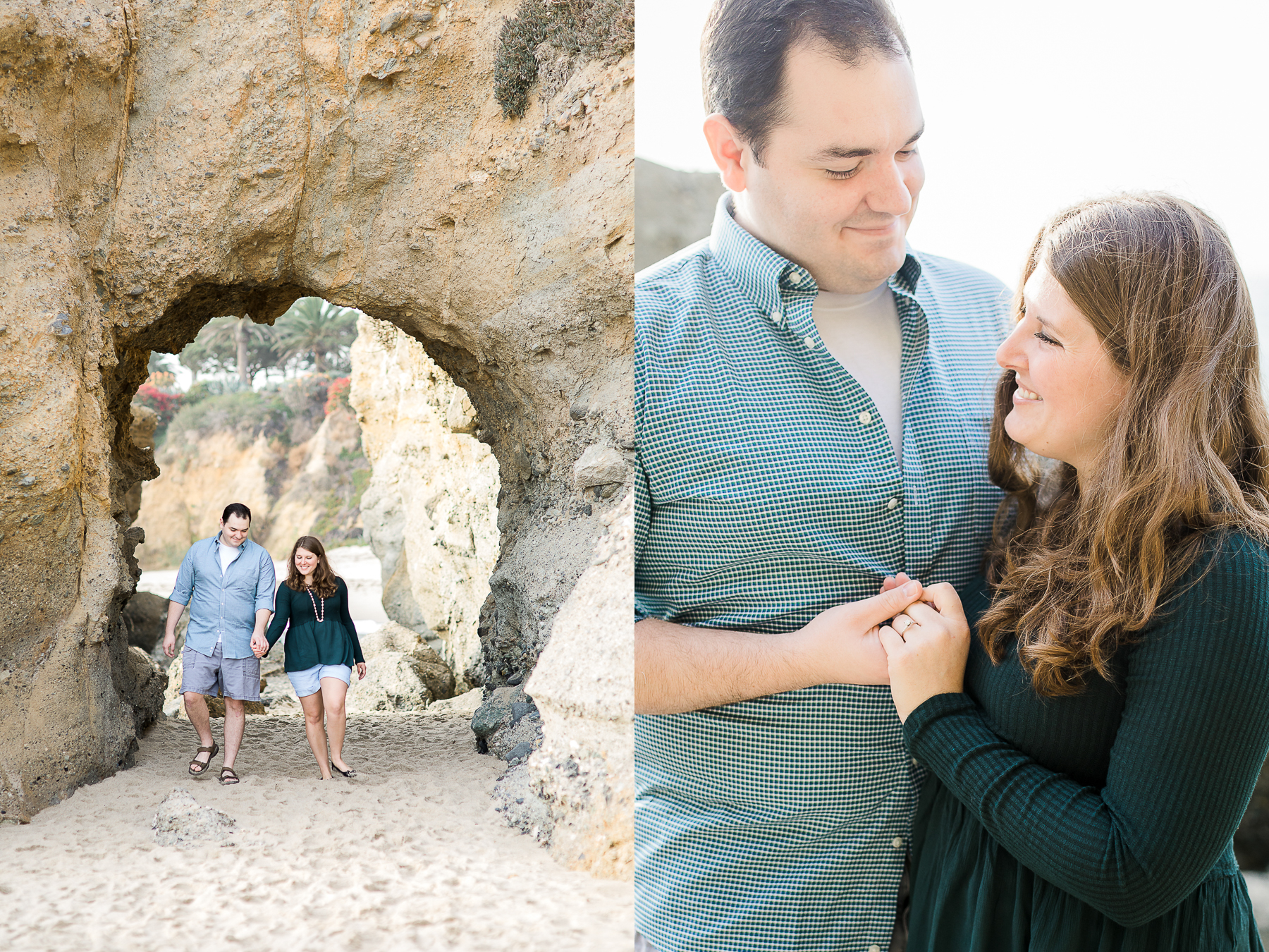 Destination engagement session by Laramie based photographer, Megan Lee Photography