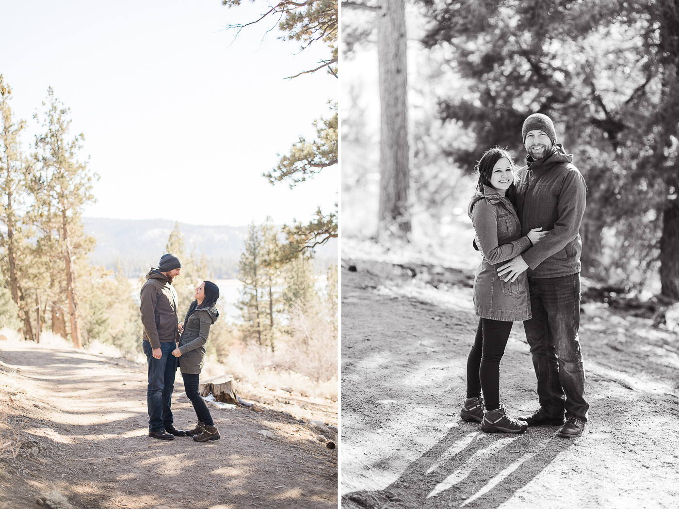 Big Bear Engagement Session in California