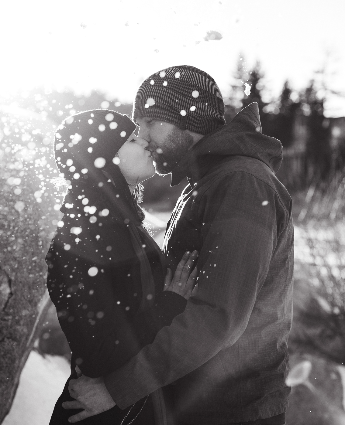 Engagement Photos at Big Bear in California