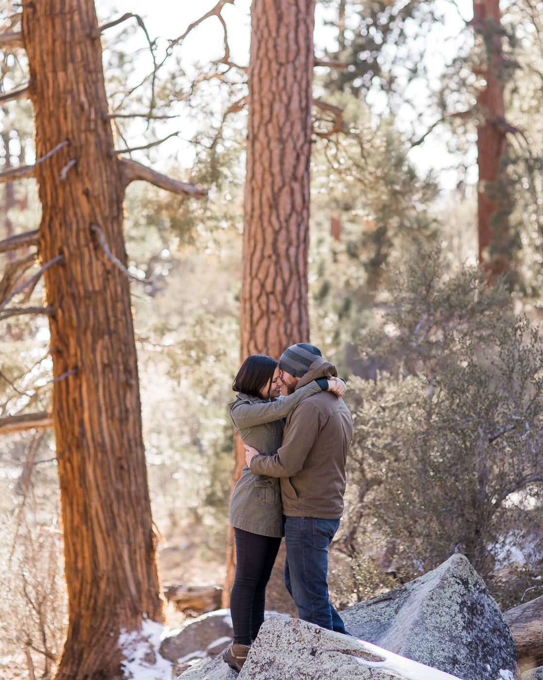 Rustic Engagement Photos in California