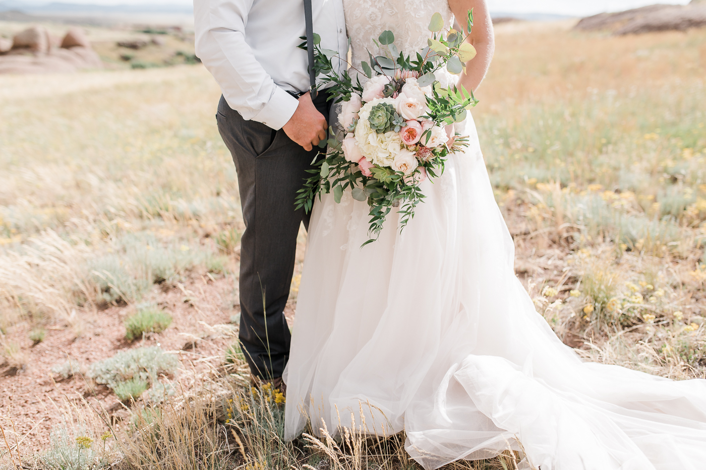 Bride and Groom portraits by Megan Lee Photography