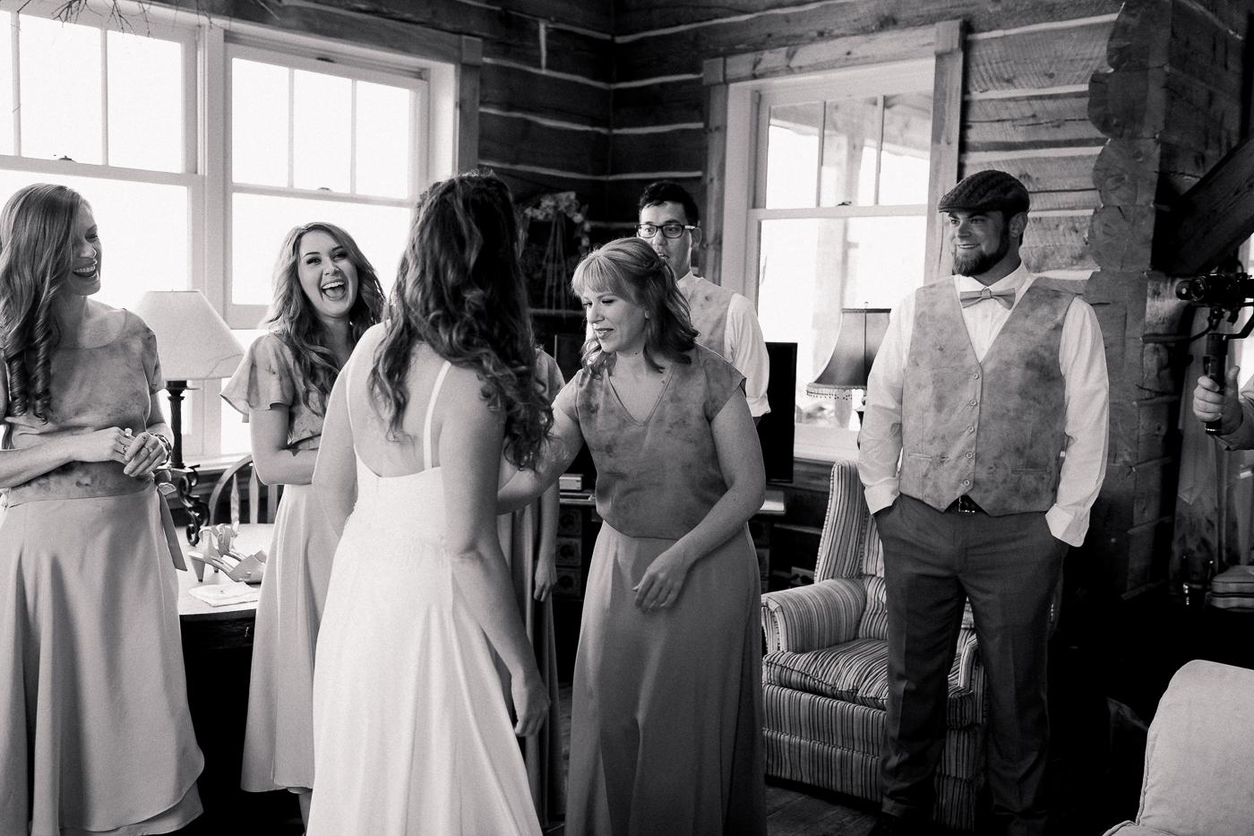Colorado Cabin Wedding