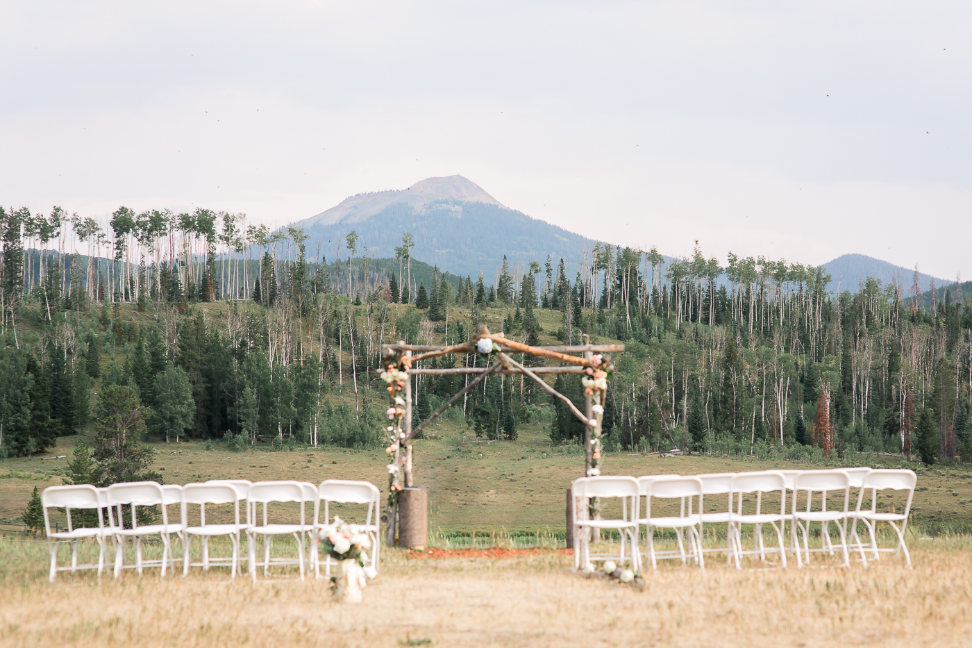Outdoor Mountain Intimate Ceremony