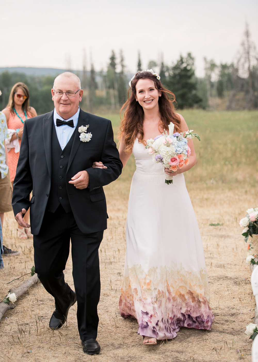 Outdoor Colorado Wedding by Wyoming based Photographer, Megan Lee Photography