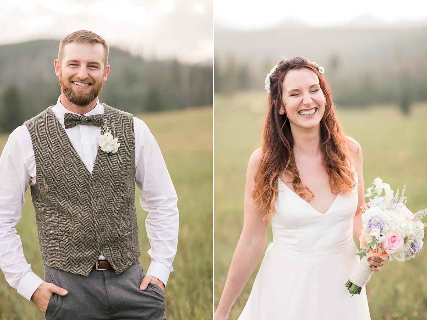 Colorado Mountain Wedding by Megan Lee Photography