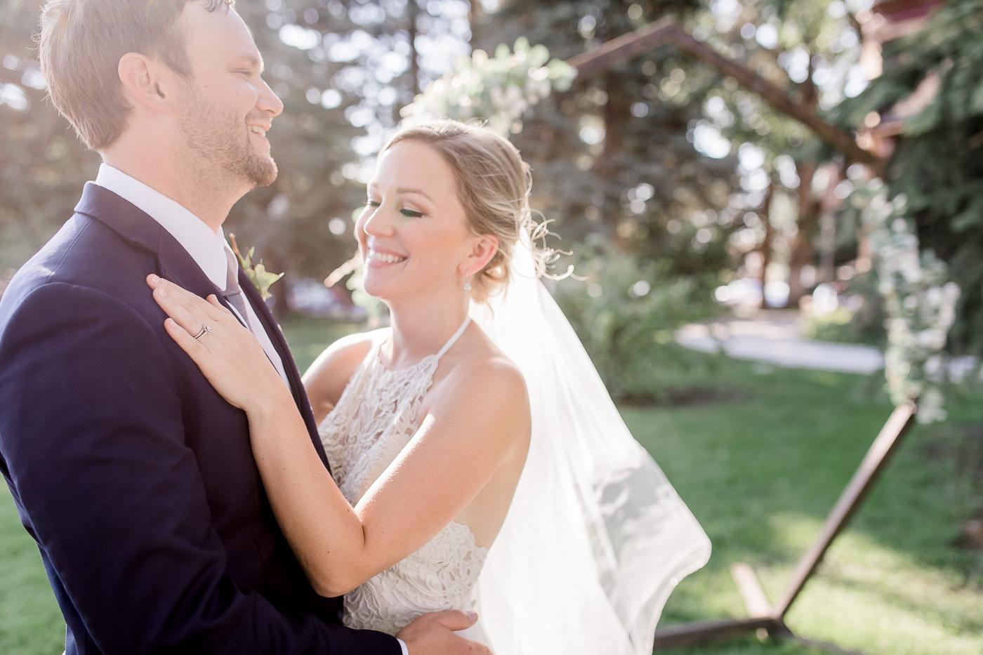 Elegant Summer Mansion Wedding by Megan Lee Photography